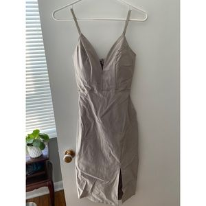 Revamped v neck dress